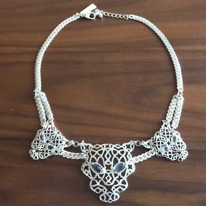 Kendra Scott gold statement necklace